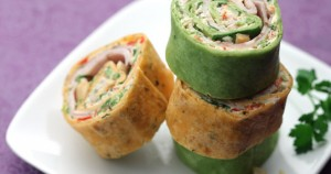 Red and Green Pork Roll-ups 1